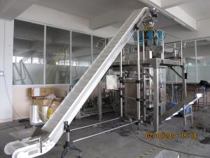 China Stainless Steel Nuts Crispy Automatic Packaging Machine with Feeding Elevator on sale