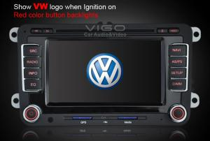 China RDS VW Sat Nav DVD Passat B6, Rabbit, Golf Multimedia with Dual Digital TV Tuners VVW7088 on sale