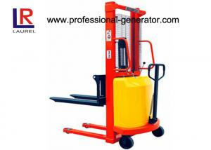 China Industrial Warehouse Material Handling Equipment Straddle Leg Semi Electric Stacker 1.5T on sale