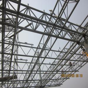 China Firm High Rise Steel Structures High Strength With Steel Truss on sale