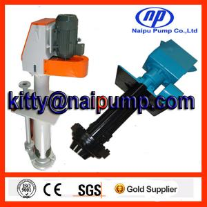 China 40PV-SP Metal liner vertical slurry pump on sale