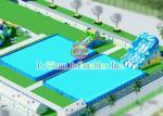 As piscinas feitas sob encomenda de aço inoxidável resistentes tornam para o verão quente