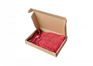 China Corrugated Gift Paper Box For Packing Apparel Crack Resistant And Damp - Proof on sale