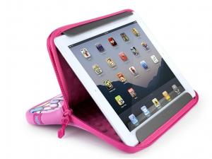 China Customized Velvet Tablet PC Pouch / Flannel Tablet Sleeve Case on sale