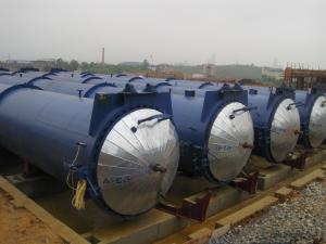 China Large Scale Steam Brick / AAC Concrete Autoclave Φ2.68 × 38m / Pressure Vessel Autoclave AAC autoclave on sale