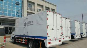 Quality Water Closed Cooling 80KW  Truck Mounted Generator Sets With High Temperature Radiator for sale