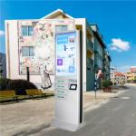 Outdoor Usb Fast Charging Cell Phone Charging Stations Kiosk Locker 6 Port Coin Operated