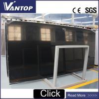 China Polishing Sparkle Platinum Black Quartz Slab Walling Cladding Stone on sale