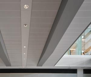 China Decorative Perforated  Lay In Ceiling Panels , Waterproof Ceiling Tiles  300x1200mm on sale