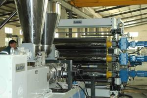 China Advertising Board PVC Foam Board Extrusion Line 1000 - 2050mm Board Width on sale