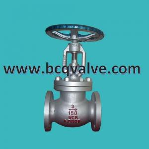China ANSI Cast Steel rising stem OS&Y flange Gate Valve with Bolted Bonnet on sale