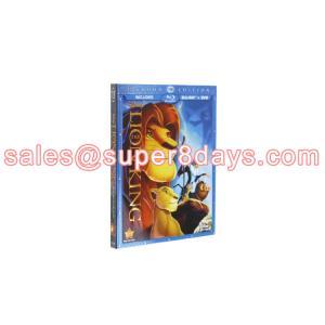 China Wholesale Hot Sale Classic Disney Movie Blue Ray DVD The Lion King DVD Blu-Ray Movies Disney Cartoon DVD Top AAA Quality on sale