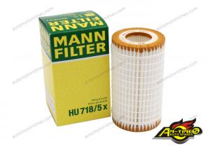 China Lubrication System Car Engine Filter Oil Filter HU718 5X For MERCEDES BENZ on sale
