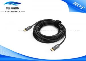 China High Definition Multimedia Interface Fiber Optic Hdmi Cable , OD 3.0mm * 5.0mm Long Hdmi Cable on sale