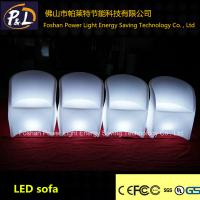 China Italian Furniture Recliner LED Sofas 16 Colors Changing With Remote Control on sale