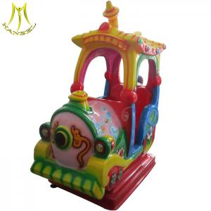 China Hansel Economical Mini Car for kids play train kiddie rides for sale coin operated train rides made in china on sale