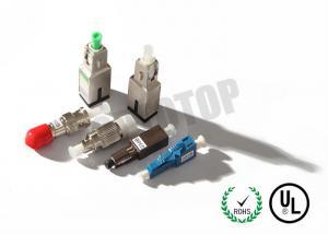 China 1-15dB Fixed Optical Pad Fiber Optic Attenuator on sale