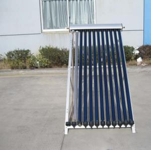 China U Pipe 12 Tubes Pressurized  Solar Collector For Flat Roof on sale