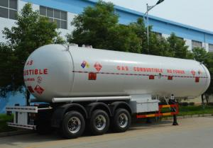 China 18 Ton 43000 Liters LPG Tank Semi Trailer Triple Axles LPG Tanker Truck Trailer on sale