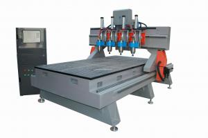 China Multiple Spindles CNC Wood Carvig Machine TJ-1315-6 on sale