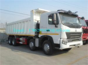 China High Speed Commercial Dump Trucks Heavy Duty With German ZF8118 Steering Gear Box on sale