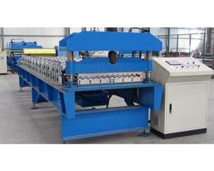 China Corrugated roof roll forming machine on sale