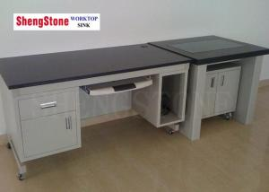 China 19 Mm Thickness Chemical Lab Furniture , Chemical Resistant Table Top on sale