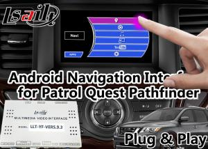 China GPS Navigation Android Auto Interface Support Voice Activation For Nissan on sale