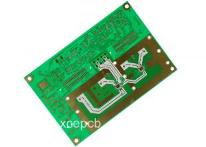 China Satellite GPS Tracker Rogers PCB Antenna Printed Circuit Board 1OZ 1.6mm Thickness on sale