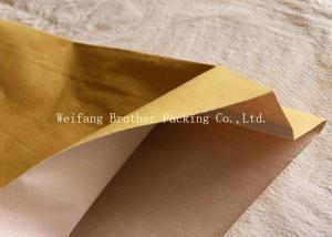 China PP Woven Kraft Paper Plastic Composite Bag For Graphite Powder Packing on sale