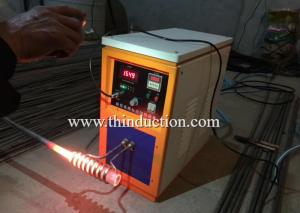 China Factory price portable IGBT High frequency induction heating machine on sale