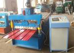 Cr12 Cutter Cold Roll Forming Machine For Galvanized IBR Roof Sheet In Building Material Construction