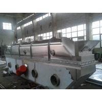 Vibrating Continuous Fluid Bed Dryer Machine Fully Closed Structure For Chemical Industries
