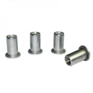 China Galvanized Steel Blind Rivets, Metal Hardware Flat Head Blind Rivet For Electronic Products, Baby Stroller on sale