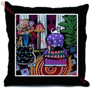 China Adults Silk Throw Pillows on sale