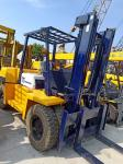 5T Capacity Used Komatsu Forklift Powerful Diesel Engien For Special Transport