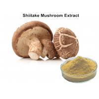 China 30% Lentinan Shiitake Mushroom Polysaccharides Extract Brown Yellow Powder Anti - Virus on sale