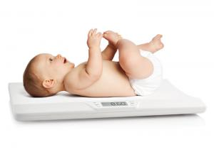 China LCD Display Electrical Medical Instruments , Smart Digital Infant Weighing Scale on sale
