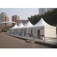 Advertising Aluminum Pagoda Tent Flame Retardant 100 Km / H Wind Loading