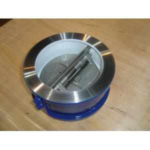 China High Performance Wafer Dual Check valve 150# for water, oils, sewage on sale
