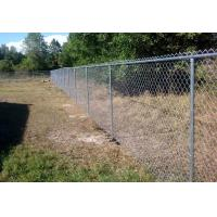 Height 1.5m 1.8m 2.0m 2.4m Chain Link Fence With Black And Green Colors