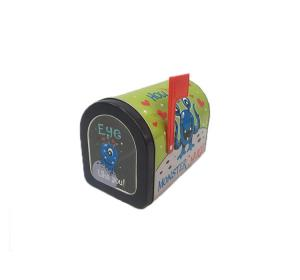 China Customized Mailbox Shaped Gift Boxes , Decorative Metal Box For Candy Packing on sale
