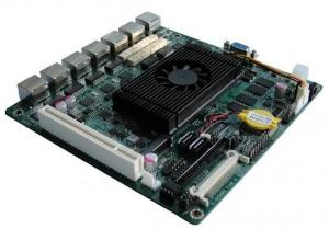 China Atom D525 Firewall Motherboard with 6 LAN Port on sale
