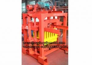 China high quality 4-40 small concrete block machine for hollow blocks on sale