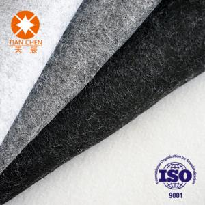 China Black Recycled Non - Woven Fabric Needle Punched Carpet Underfelt For Floor on sale