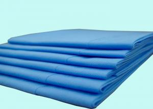 China Hospital Disposable Bed Sheet Medical Non Woven Polypropylene Fabric Material on sale
