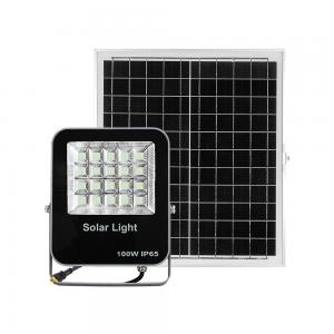 China 400W Remote P65 Projector Warm White Solar Led Floodlight on sale