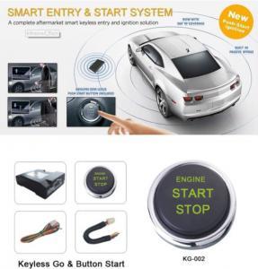 China Car Auto Engine Start Stop Button One Key Start Keyless Go System Ignition Switch on sale
