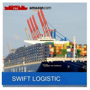 SWIFT  LOGISTIC LCL Sea Freight From China To Spain Europe Amazon Fba Shipping Service