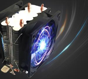 China 200W Universal Platform colorful led cpu cooler on sale